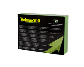 Improve sperm quality and the production of semen with Volume500