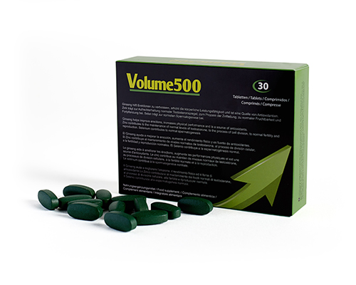 Improve sperm quality with the Volume500 pills